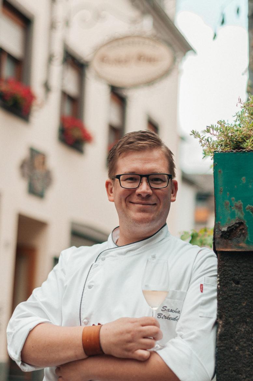 Ferienhaus Mosel - Hier unser Kooperationspartner Sascha Birkenbeil - Chefkoch und Inhaber des Restaurants Onkel Otto in Pommern an der Mosel