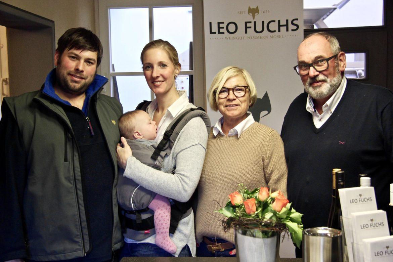 Familie Fuchs - 3 Generationen Weinbau - Partner der Mosel-Chalets